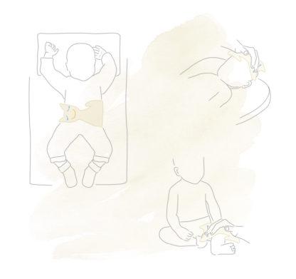 Usos Almohadilla para bebé