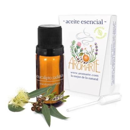 Aceite Esencial Orgánico Eucalipto Radiata