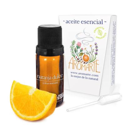 Aceite Esencial Orgánico Naranja Dulce (citrus sinensis) Aromarte